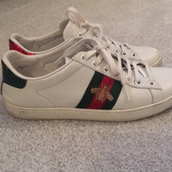 Gucci Shoes | Used Gucci Ace Sneakers